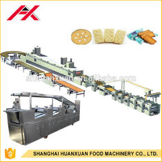 Multi Functional Biscuit Making Machine , Biscuit Production Line Easy Operated